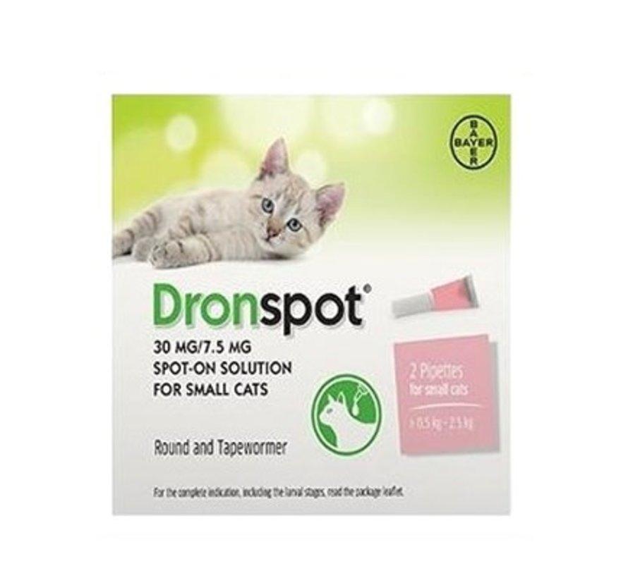 Dronspot kleine katten 2 pip