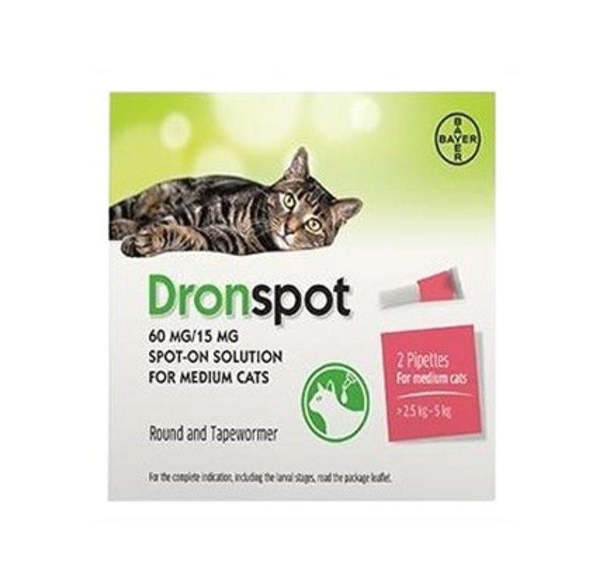 Dronspot middel grote katten 2 pip