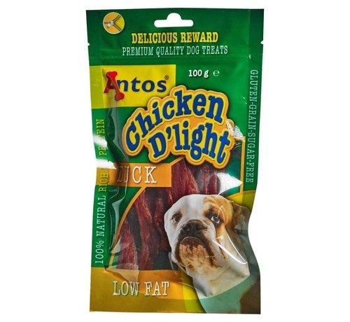 CHICKEN D'LIGHT DUCK 100 GR
