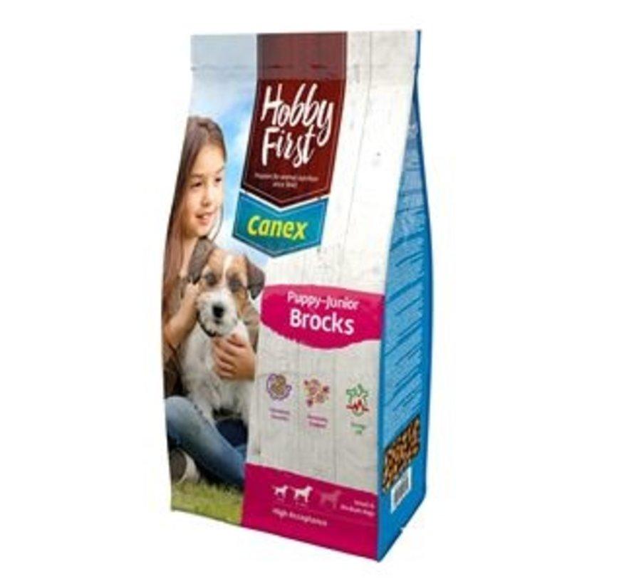 Hobby First Canex puppy/junior brocks 12 kg