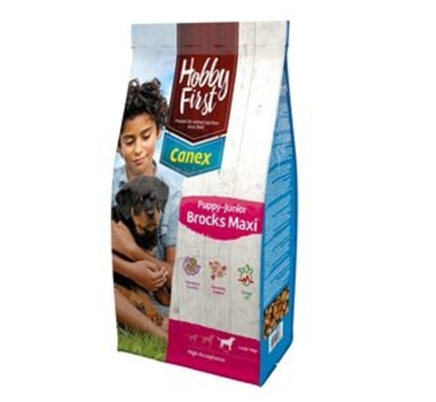 Hobby First Canex puppy/junior brocks maxi 12 kg