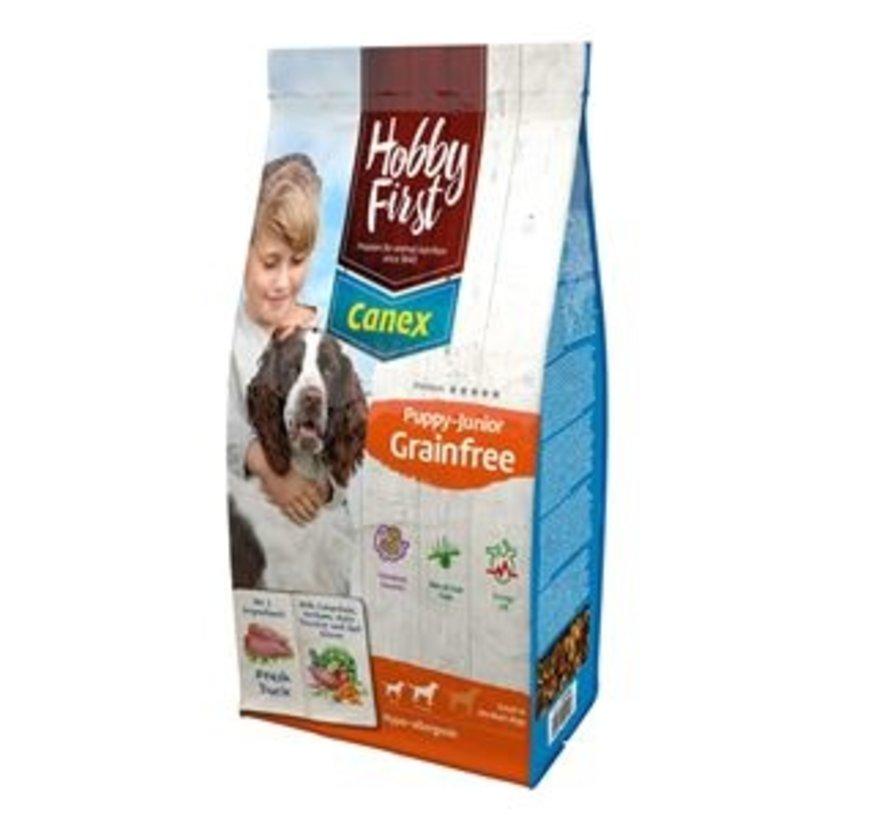 Hobby First Canex puppy/junior grainfree 12 kg
