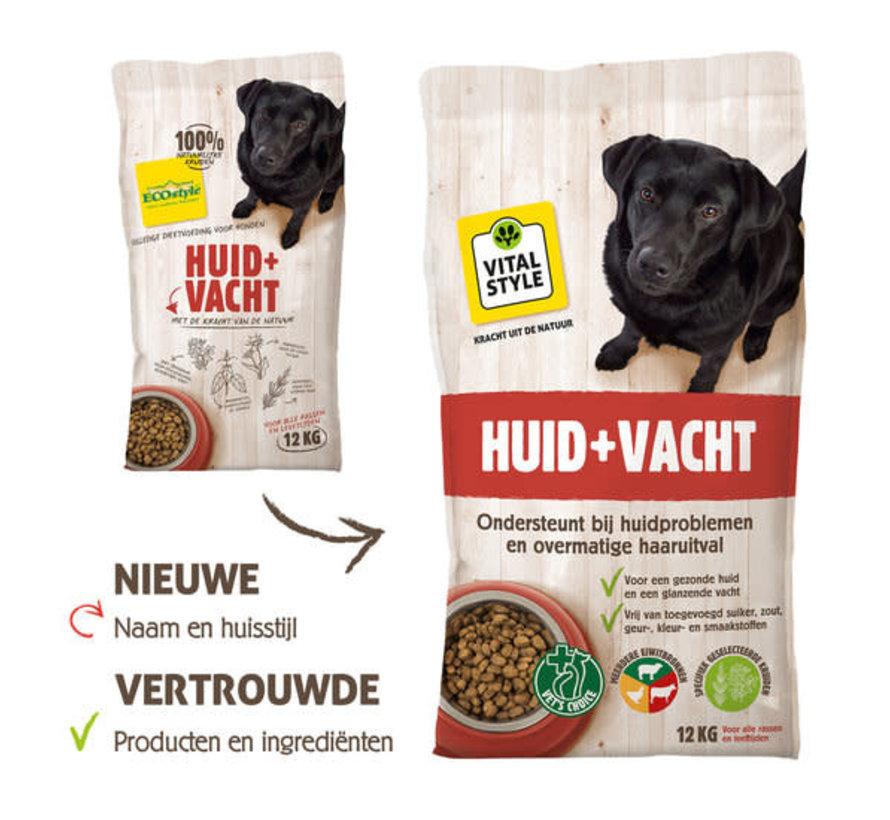 VITALstyle hond huid en vacht 12 kg