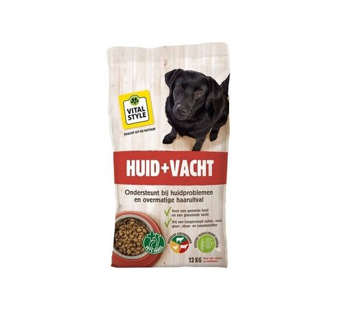 Vitalstyle VITALstyle hond huid en vacht 1,5 kg