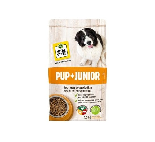 Vitalstyle VITALstyle hond junior 1,5 kg