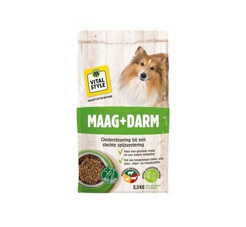 Vitalstyle VITALstyle hond maag en darm 2,5 kg