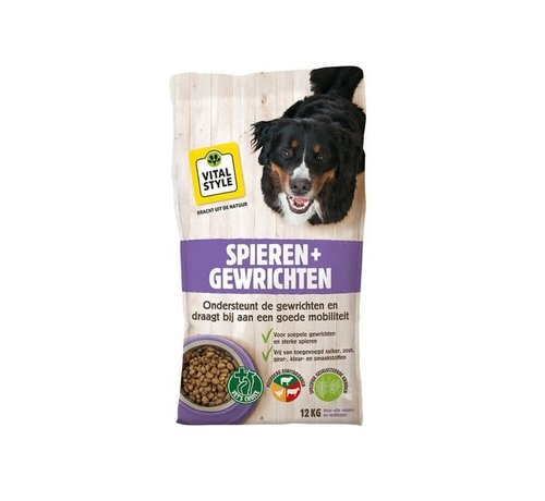 Vitalstyle VITALstyle hond spieren en gewrichten 12 kg