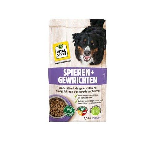 Vitalstyle VITALstyle hond spieren en gewrichten 1,5 kg