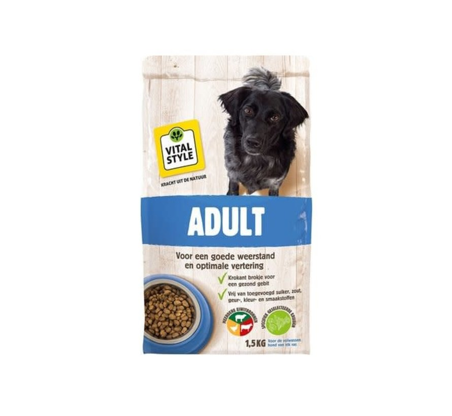 VITALstyle hond adult 1,5 kg