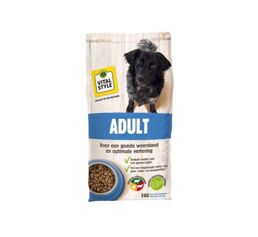 VITALstyle hond adult 5 kg