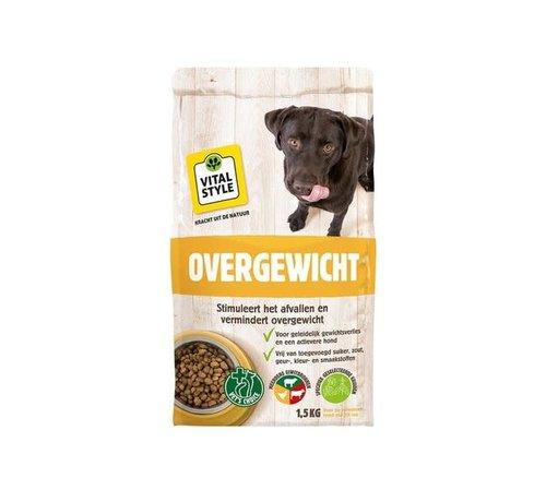 Vitalstyle VITALstyle hond overgewicht 1,5 kg