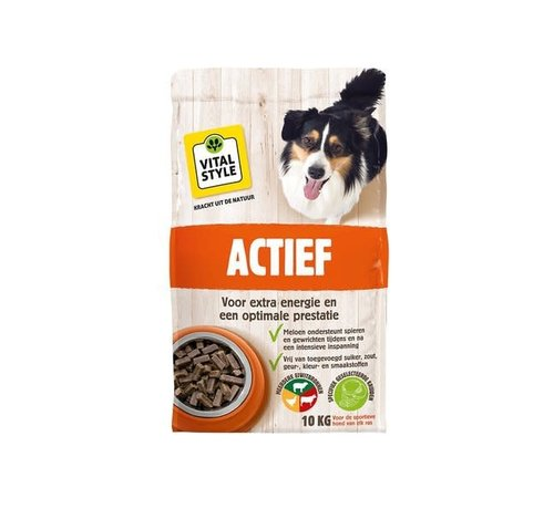 Vitalstyle VITALstyle hond actief 10 kg