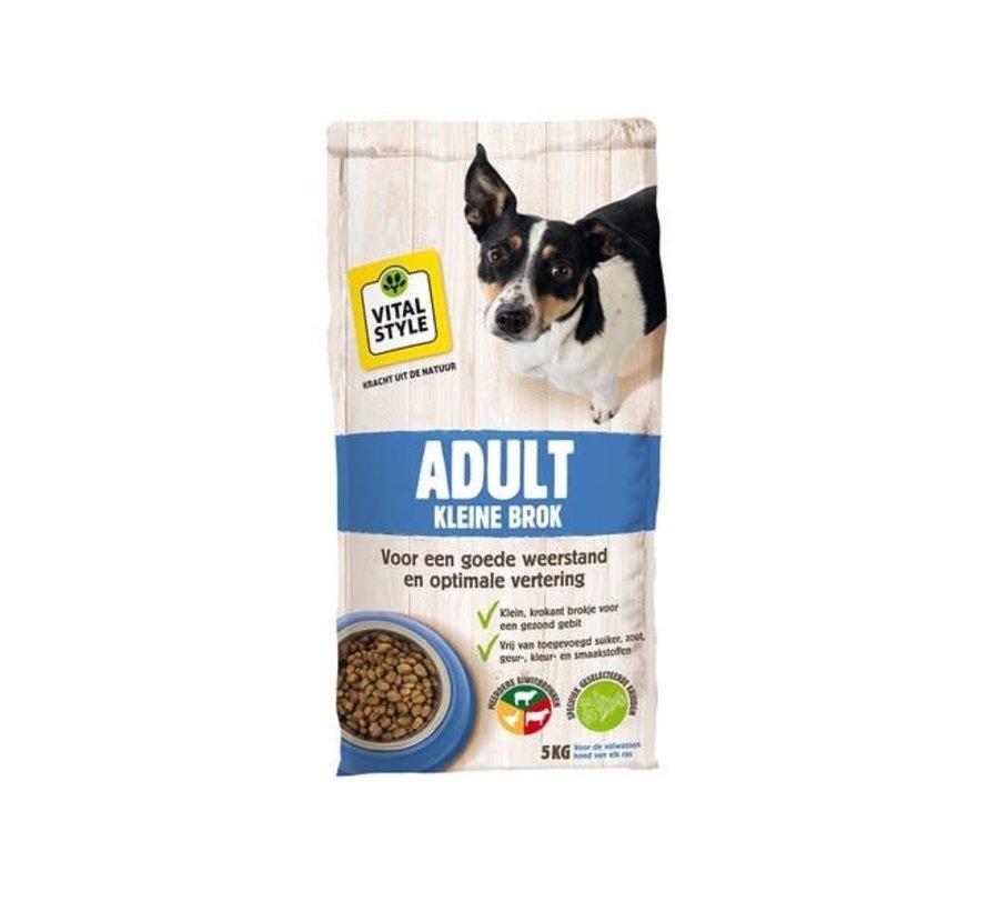 VITALstyle hond adult kleine brok 5 kg