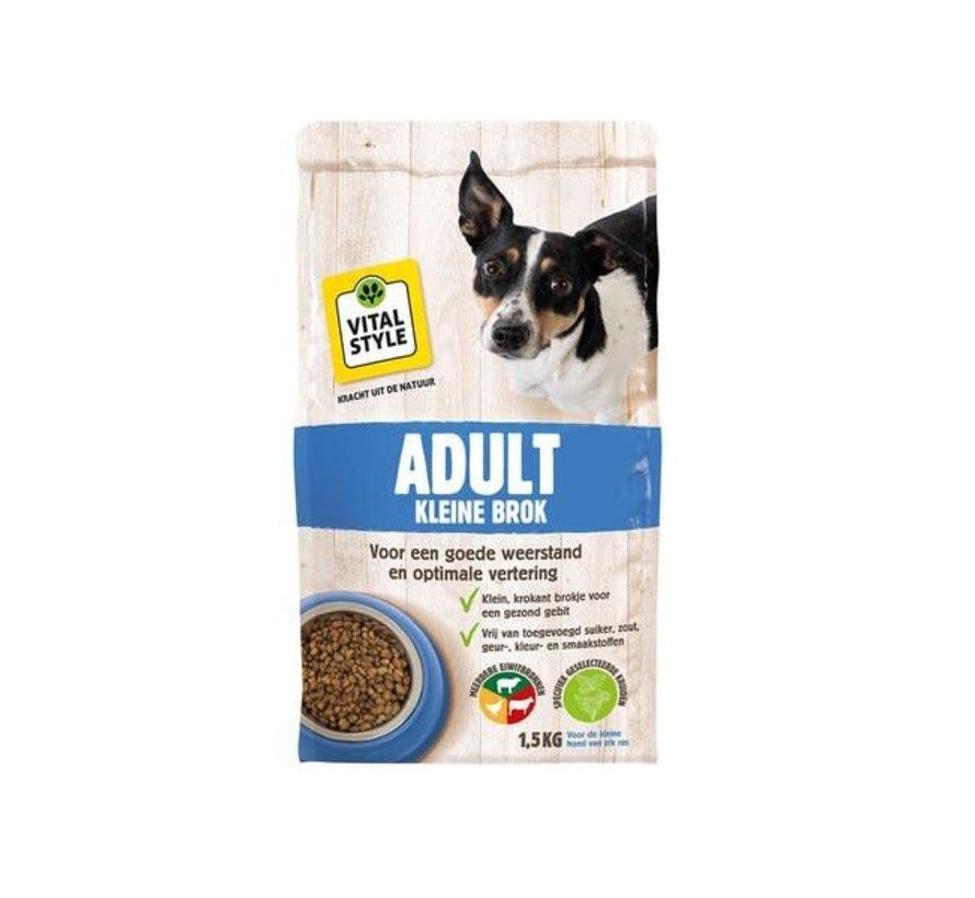 VITALstyle hond adult kleine brok1,5 kg