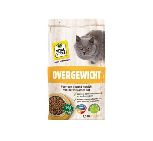 Vitalstyle VITALstyle kat overgewicht 1,5 kg
