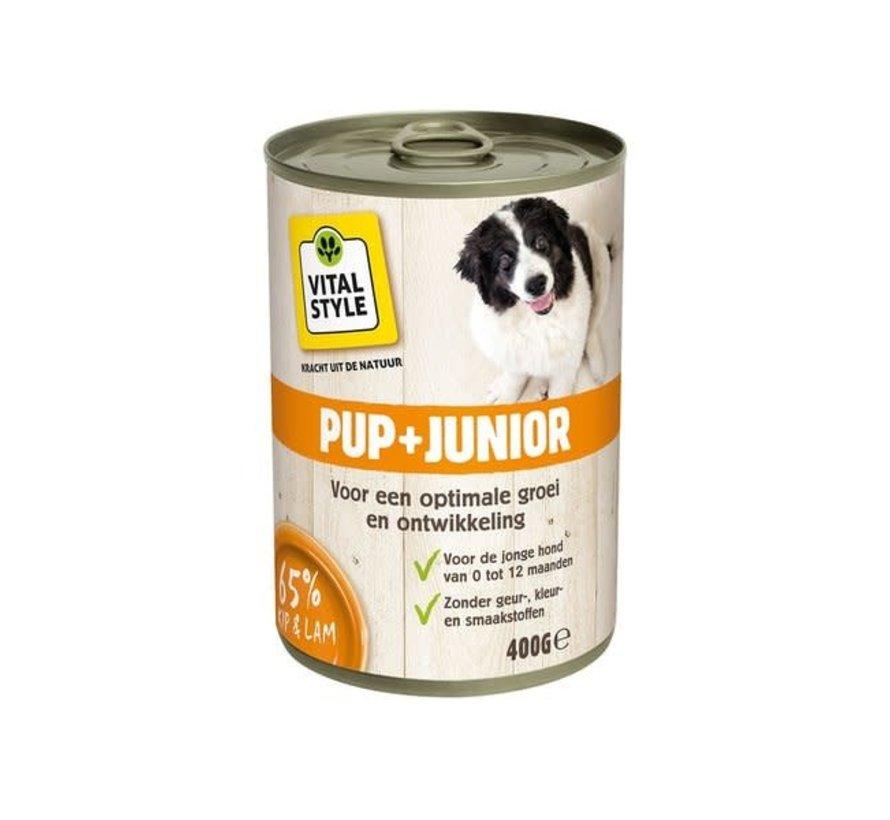 VITALstyle hond junior blik 400 gr