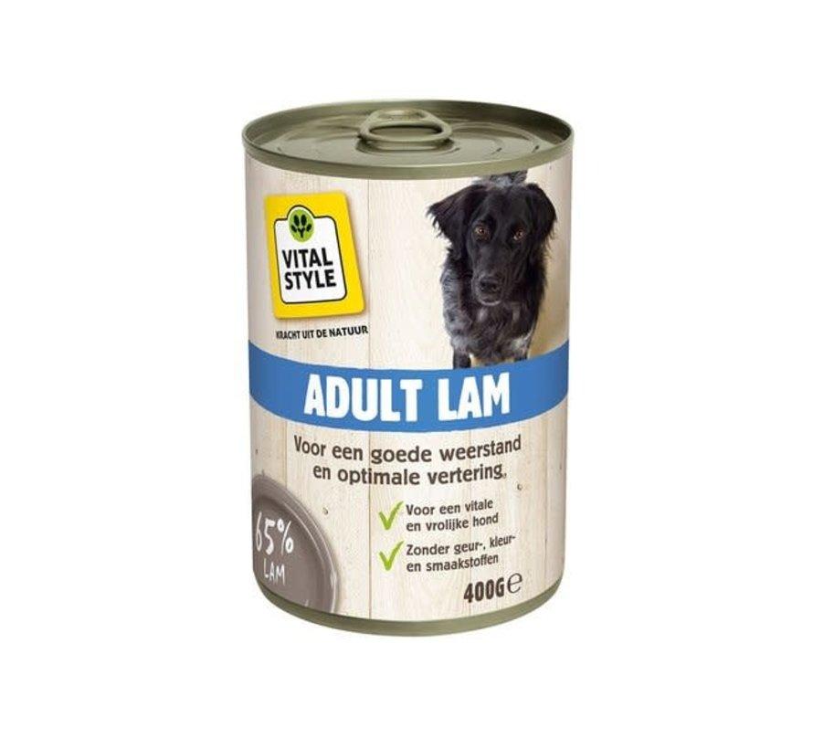 VITALstyle  hond lam blik 400 gr
