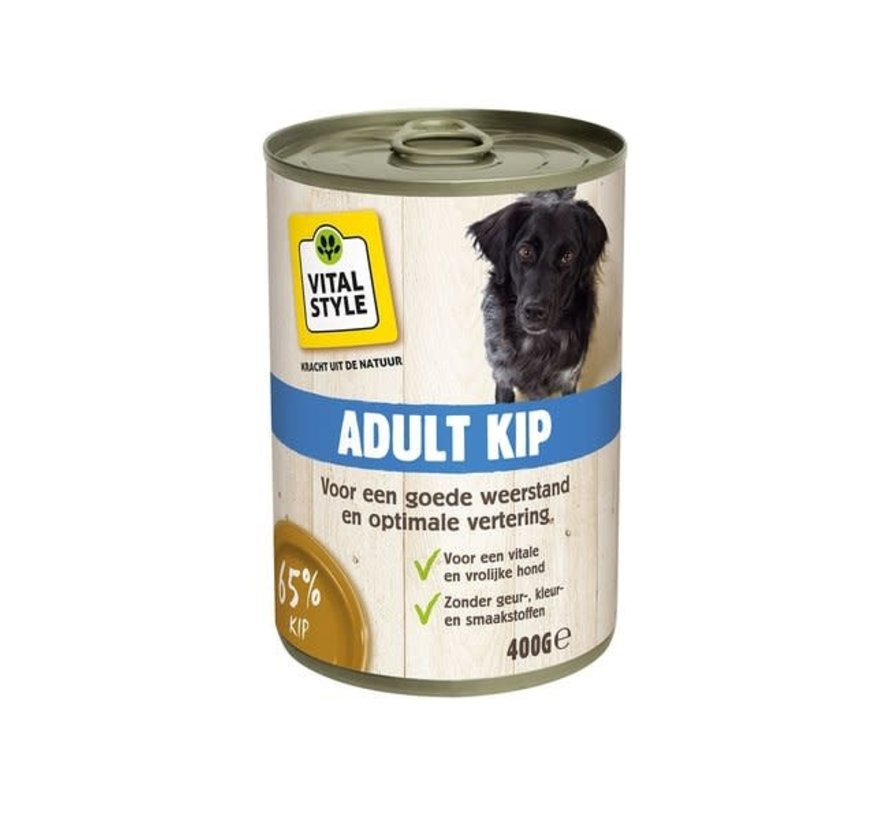 VITALstyle hond kip blik 400 gr