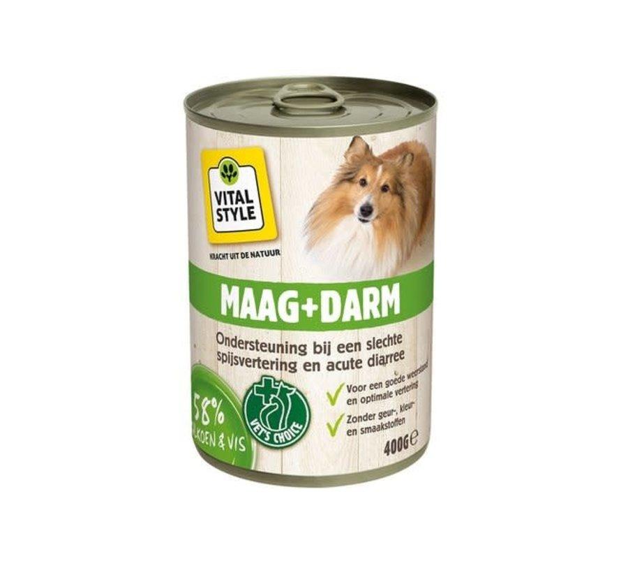 VITALstyle hond maag en darm blik 400 gr