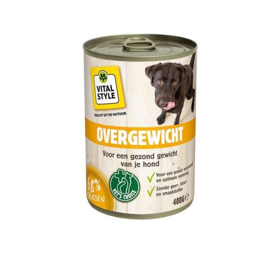VITALstyle hond overgewicht blik 400 gr