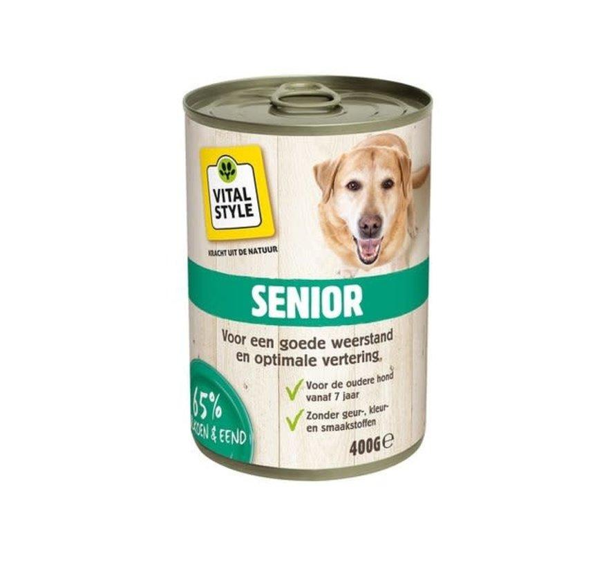 VITALstyle hond senior blik 400 gr