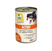 Vitalstyle VITALstyle hond actief blik 400 gr