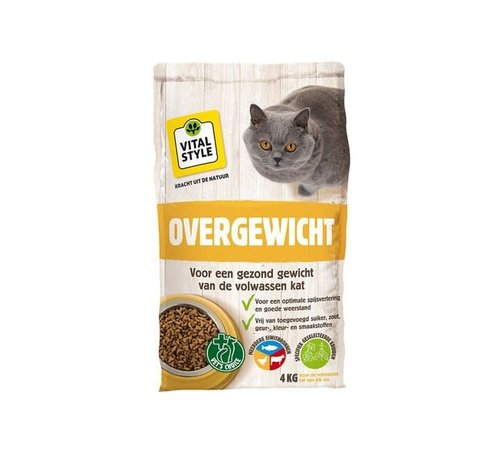 Vitalstyle VITALstyle kat overgewicht 4 kg