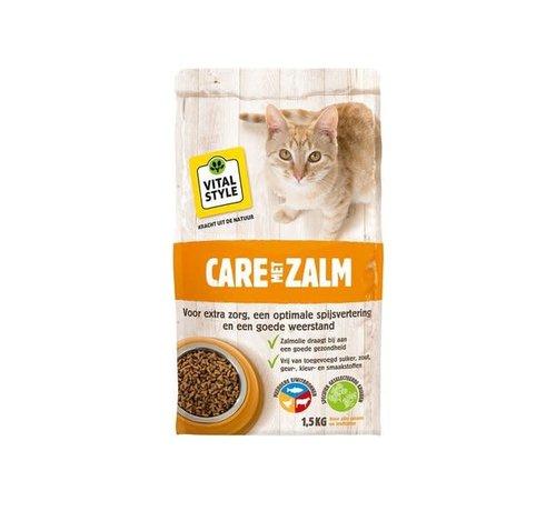 Vitalstyle VITALstyle kat care zalm 1,5 kg