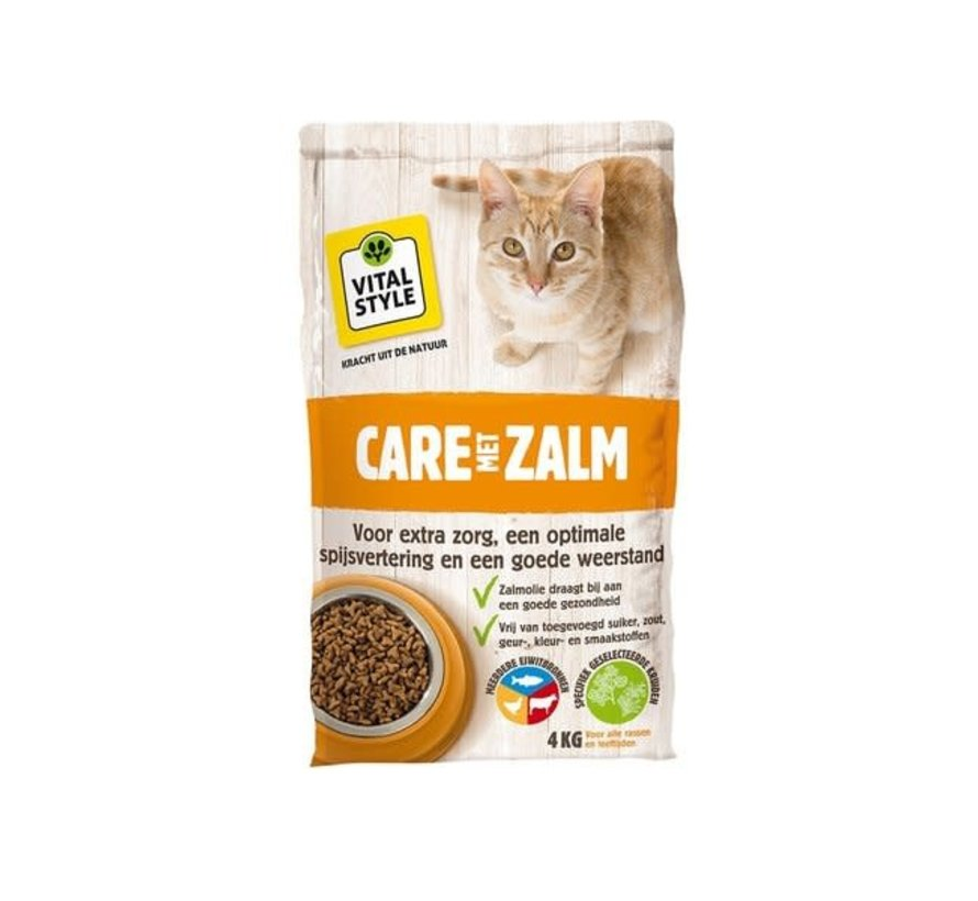 VITALstyle kat care zalm 4 kg