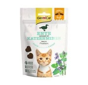 GimCat GimCat Crunchy Snack Eend & Catnip 50 gr