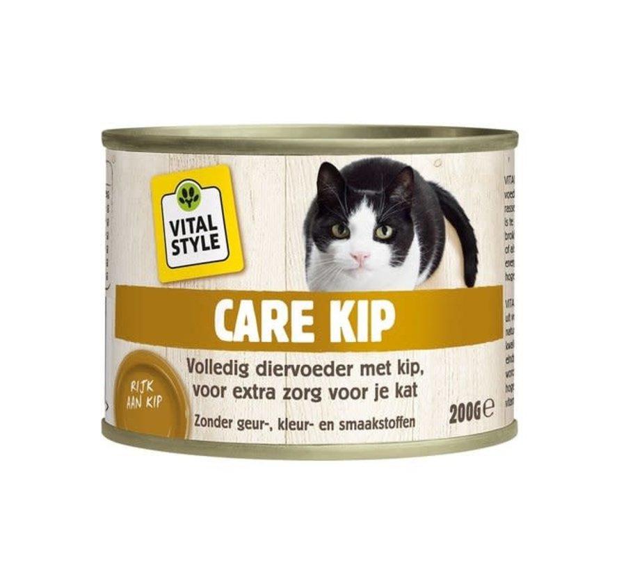 VITALstyle kat care kip blik 200 gr