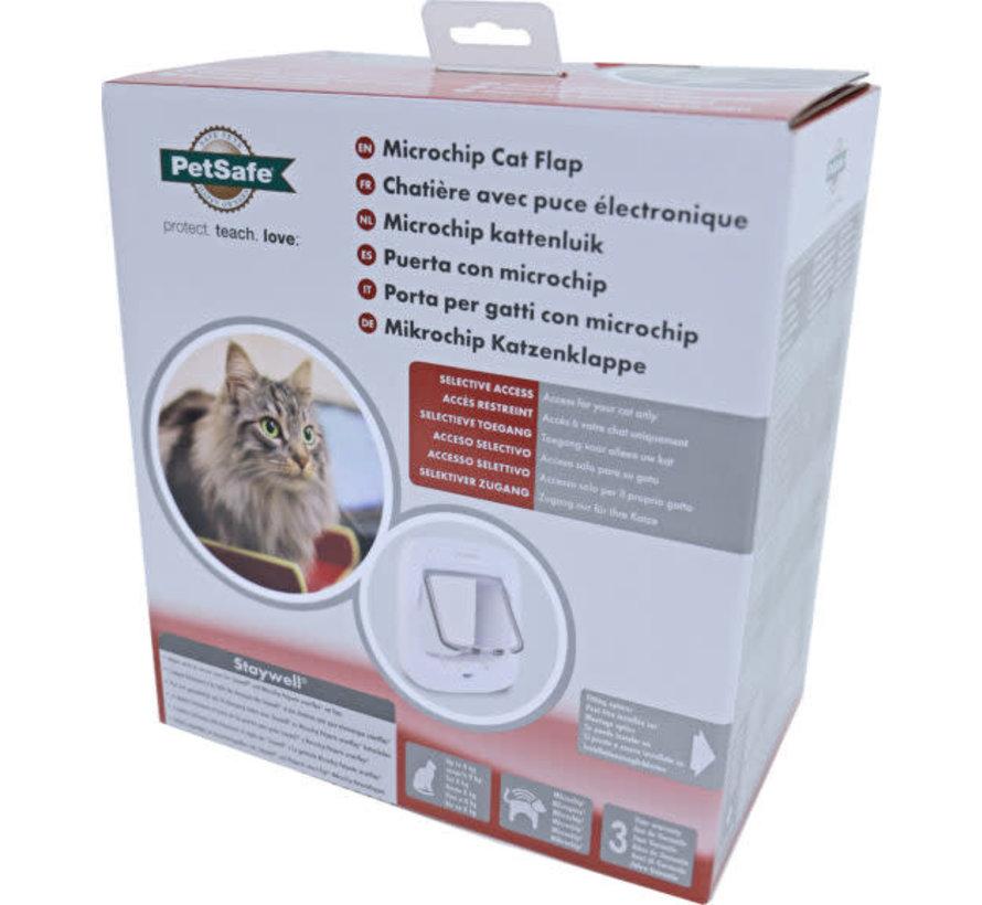 Petsafe kattendeur  microchip wit ppa19-16145
