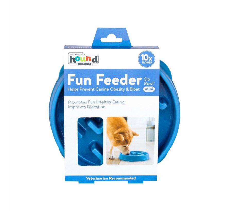 Fun Feeder Notch Blue Mini