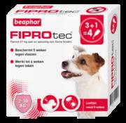 Beaphar Beaphar Fiprotec hond 2-10 kg 4 pip