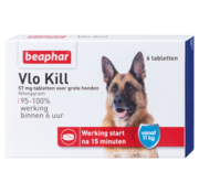 Beaphar Beaphar vlokill+ hond vanaf 11 kg 6 tabl