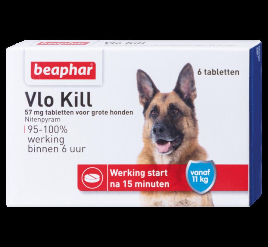 Beaphar vlokill+ hond vanaf 11 kg 6 tabl