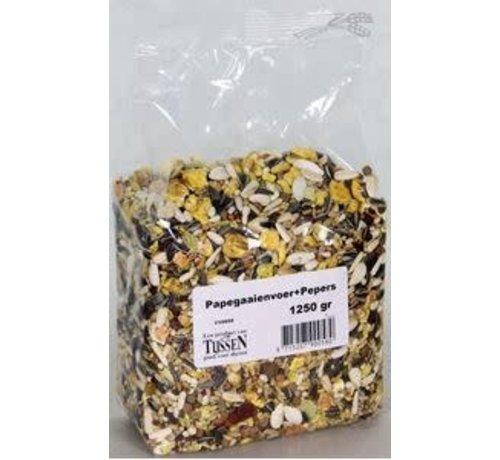 Papegaaienvoer+Pepers 1250 gr