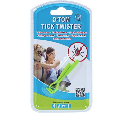 tekenpen Tick Twister 2 stuks op blistercard groen