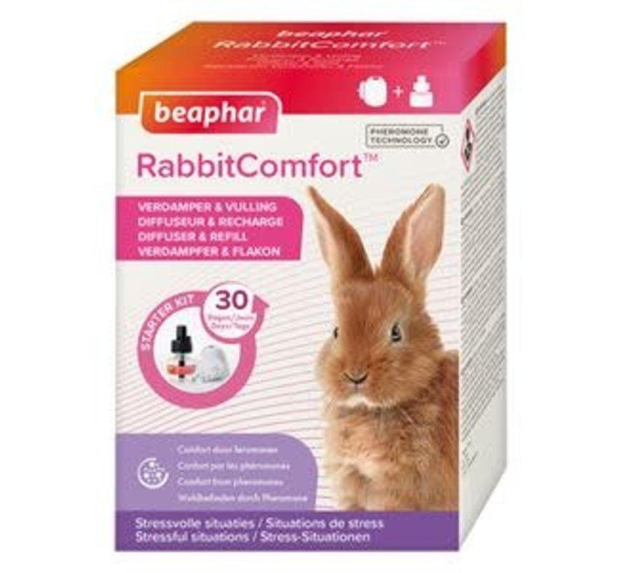 RabbitComfort Starterskit Verdamper & Vulling 48 ml