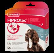 Beaphar Beaphar Fiprotec hond 10-20 kg 4 pip