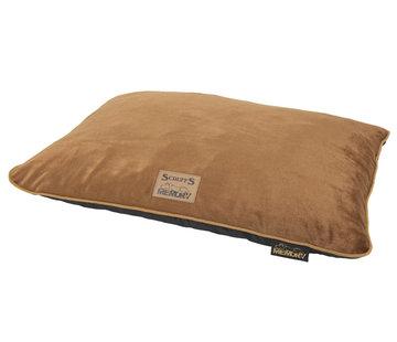 Scruffs Scruffs Bolster Orthopaedic Pillow Bed Plush Brown M