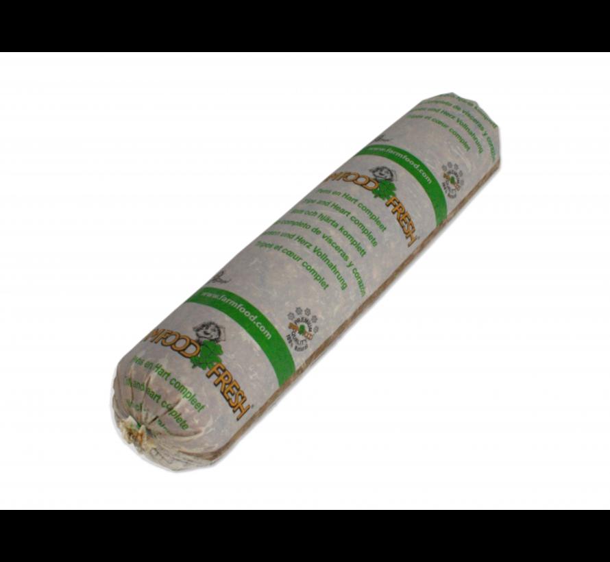 Farm food fresh compl worst pens hart 250 gr