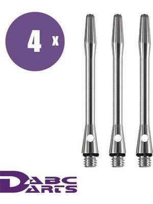 ABCDarts Aluminium Naturel  – 4 sets
