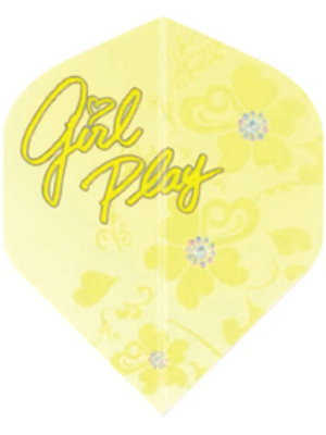 Target darts target darts 116010 - dartflights pro 100 girl play yellow