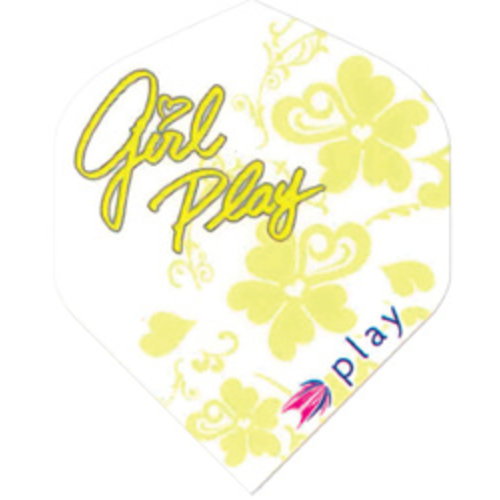Target darts target darts 116010 - dartflights pro 100 girl play yellow