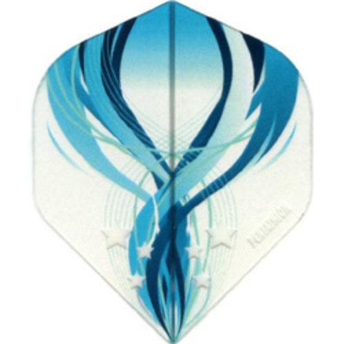 Pentathlon Pentathlon dartflight - vision blauw swirl
