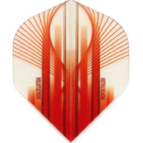 Pentathlon Pentathlon dartflight - vision rood bow