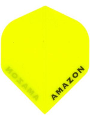 Pentathlon Amazon dartflight - fluor geel