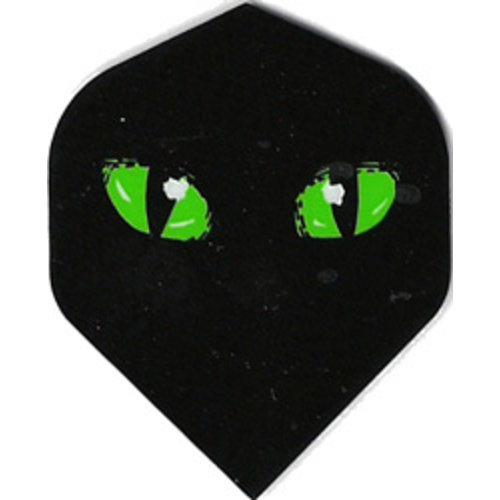 ABCDarts metronic dartflights - Groene ogen