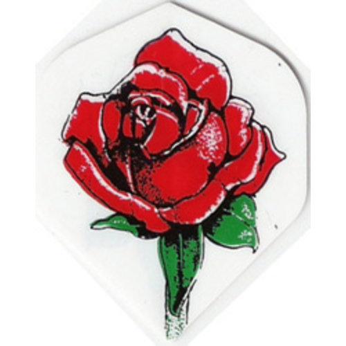 ABCDarts metronic dartflights - Rode roos